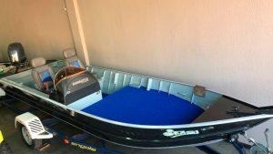 barco aluminio guara 600