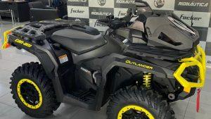 Can-Am Outlander XTP 1000R, Rotax V-Twin, quadriciclo, radiador realocado, off-roda, semi-novo